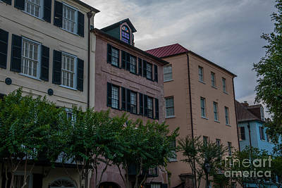 Photograph - Charleston Roof Tops by Dale Powell
