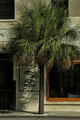 Photograph - Charleston Sidewalk Invitation by Deborah Smith