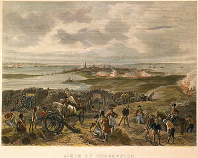 Photograph - Charleston: Siege, 1780 by Granger