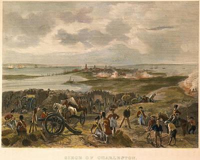 Photograph - Charleston: Siege, 1780 by Granger