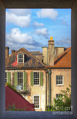 Charleston Singles Out My Window Art Print