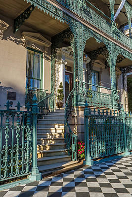 Photograph - Charleston Southern Architecture by Pierre Leclerc Photography