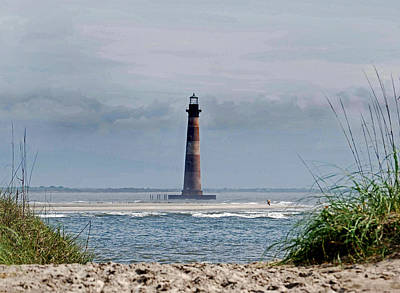 Morris Island Lighthouse Photograph - Charleston View by Skip Willits
