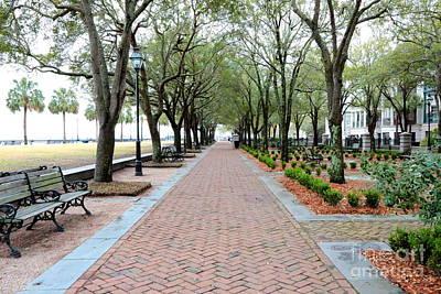 Photograph - Charleston Waterfront Park Walkway by Carol Groenen
