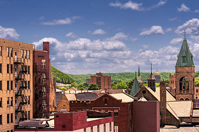 Photograph - Charleston West Virginia by Mary Almond
