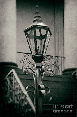 Gas Lamp Photograph - Charleston Wrought Iron Lamp by Jerry Fornarotto