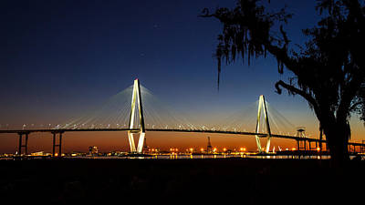 Photograph - Charleston's Arthur Ravenel Jr. Bridge by Pierre Leclerc Photography