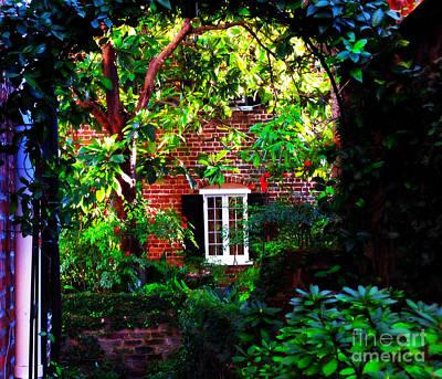 Charleston's Charm And Hidden Gems  Art Print by Susanne Van Hulst