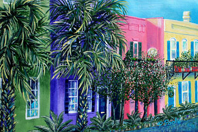 Charleston's Own Rainbow Art Print