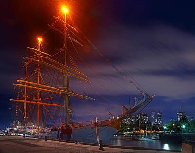 Photograph - Charlestown Navy Yard 01 by Jeff Stallard