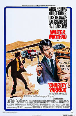 Films By Don Siegel Photograph - Charley Varrick, Us Poster, Walter by Everett