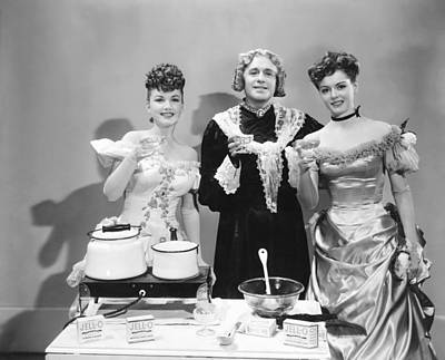 Charleys Aunt, From Left, Anne Baxter Art Print by Everett
