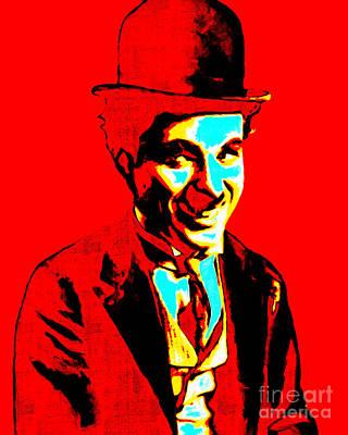 Charlie Chaplin 20130212 Art Print by Wingsdomain Art and Photography