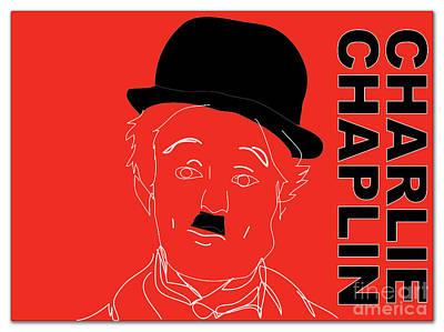 Charlie Chaplin Print by Marvin Blaine