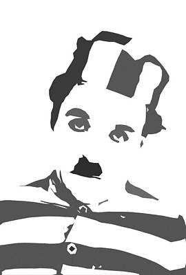 British Era Painting - Charlie Chaplin by Steve K