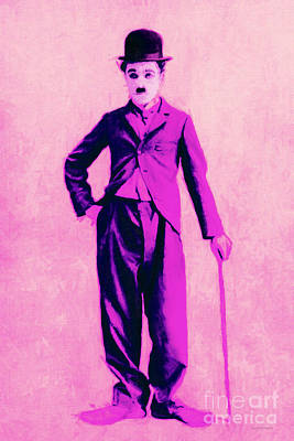 Charlie Chaplin The Tramp 20130216 Art Print