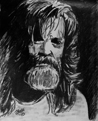 Charles Manson Drawing - Charlie by Jeremy Moore