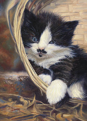 Hemingway House Wall Art - Painting - Charlie by Lucie Bilodeau