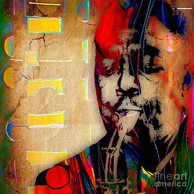 Jazz Mixed Media - Charlie Parker Collection by Marvin Blaine