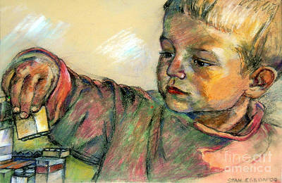 Drawing - Charlie by Stan Esson