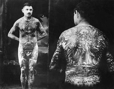 Charlie Wagner Tattooed By Lewis Alberts Original