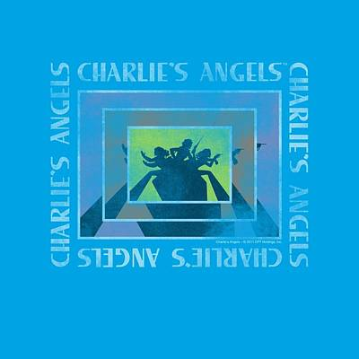 Charlies Angels Digital Art - Charlie's Angels - Boxed Angels by Brand A