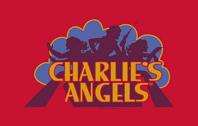 Charlies Angels Digital Art - Charlie's Angels - Faded Logo by Brand A