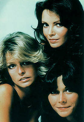 Farrah Fawcett Photograph - Charlie's Angels by Guido Prussia