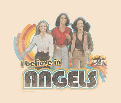 Charlies Angels Digital Art - Charlie's Angels - I Believe by Brand A