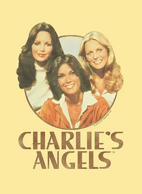 Charlies Angels Digital Art - Charlie's Angels - Retro Girls by Brand A