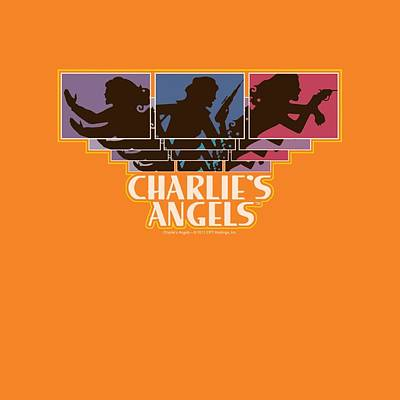 Charlies Angels Digital Art - Charlie's Angels - Tricolor Angels by Brand A