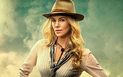 Charlize Theron Photograph - Charlize Theron A Million Ways To Die In The West  by Movie Poster Prints