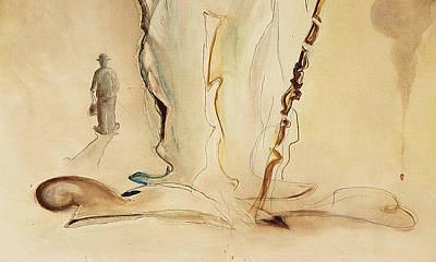 Charlot Painting - Charlot En Pieds - Orig. For Sale by Bernard RENOT