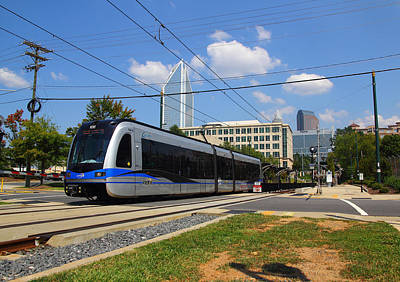 Photograph - Charlotte Area Transportation System 1 by Joseph C Hinson Photography