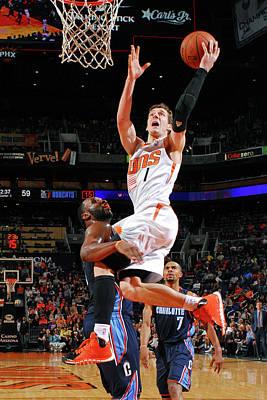 Photograph - Charlotte Bobcats V Phoenix Suns by Barry Gossage