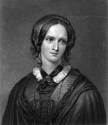 Charlotte Bront� (1816-1855) Art Print by Granger