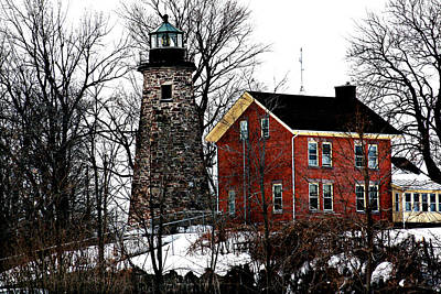 Photograph - Charlotte-genesee Lighthouse by Richard Engelbrecht