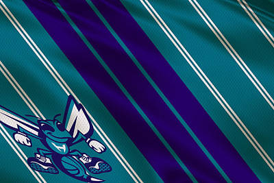 Charlotte Hornets Uniform Art Print