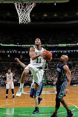 Photograph - Charlotte Hornets Vs Boston Celtics by Brian Babineau