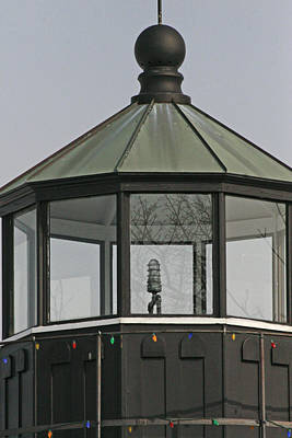 Great Lakes Photograph - Charlotte Lighthouse Lantern by Michael Allen