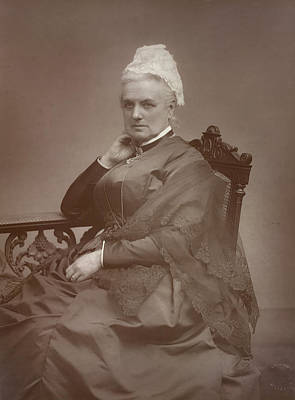 Charlotte Photograph - Charlotte Mary Yonge by British Library