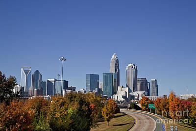 Charlotte North Carolina Art Print