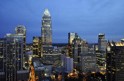 Photograph - Charlotte North Carolina by Jim Brage