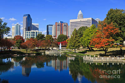 Charlotte North Carolina Marshall Park Art Print