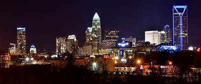 Landscape Photos Chad Dutson - Charlotte Panoramic  by Frozen in Time Fine Art Photography