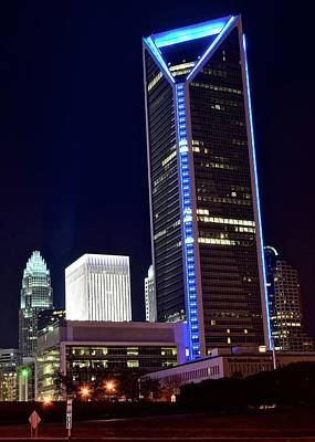 Charlotte Towers Art Print by Frozen in Time Fine Art Photography