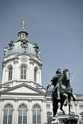 Photograph - Charlottenburg Palace In Berlin by Design Windmill