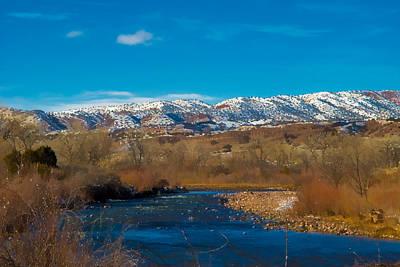 Digital Art - Charma River by Lou  Novick