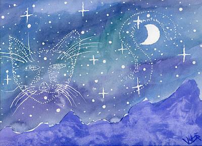Charmed Night Art Print