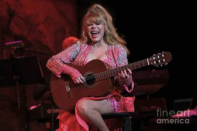 Pink Photograph - Charo by Concert Photos